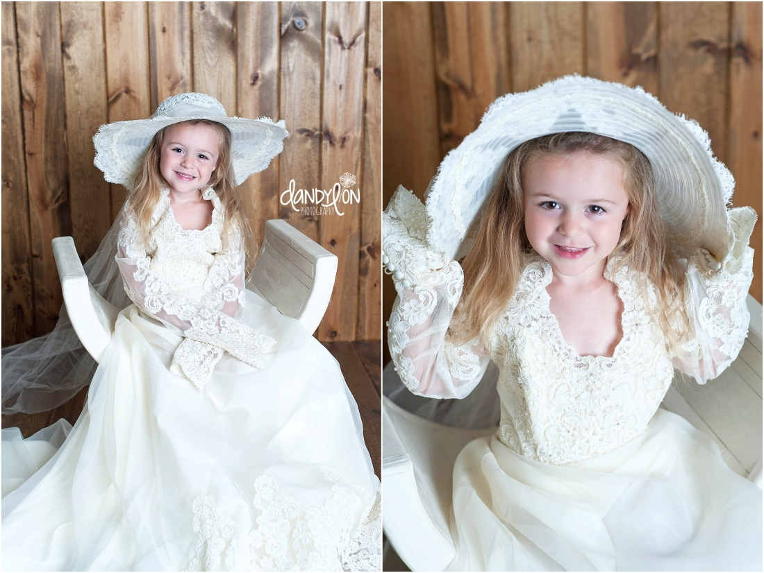 And A Sweet Angel In Her Great Grandmothers Handmade Wedding Gown